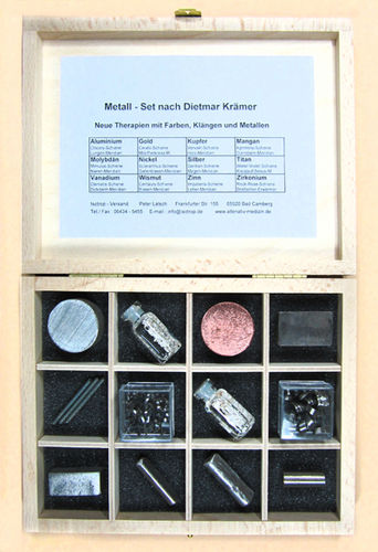 Metall Therapie Set